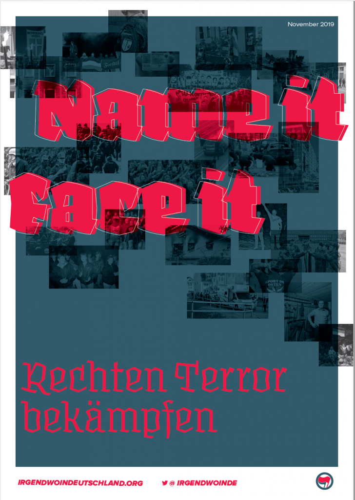 Rechter Terror: Name it, Face it-Cover